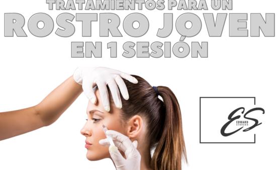 tratamientos para un rostro joven en 1 sesion